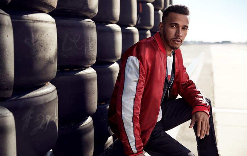 86736f3f3 As one of today's greatest sports competitors, Lewis Hamilton will  represent the world of