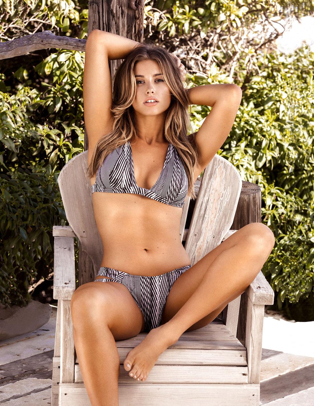 foto Elsie hewitt guess lingerie summer 2019 by alessandra fiorini hq photo shoot