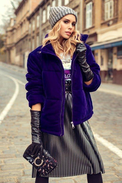 Franka Batelic is the new face of the famous Liu Jo fashion