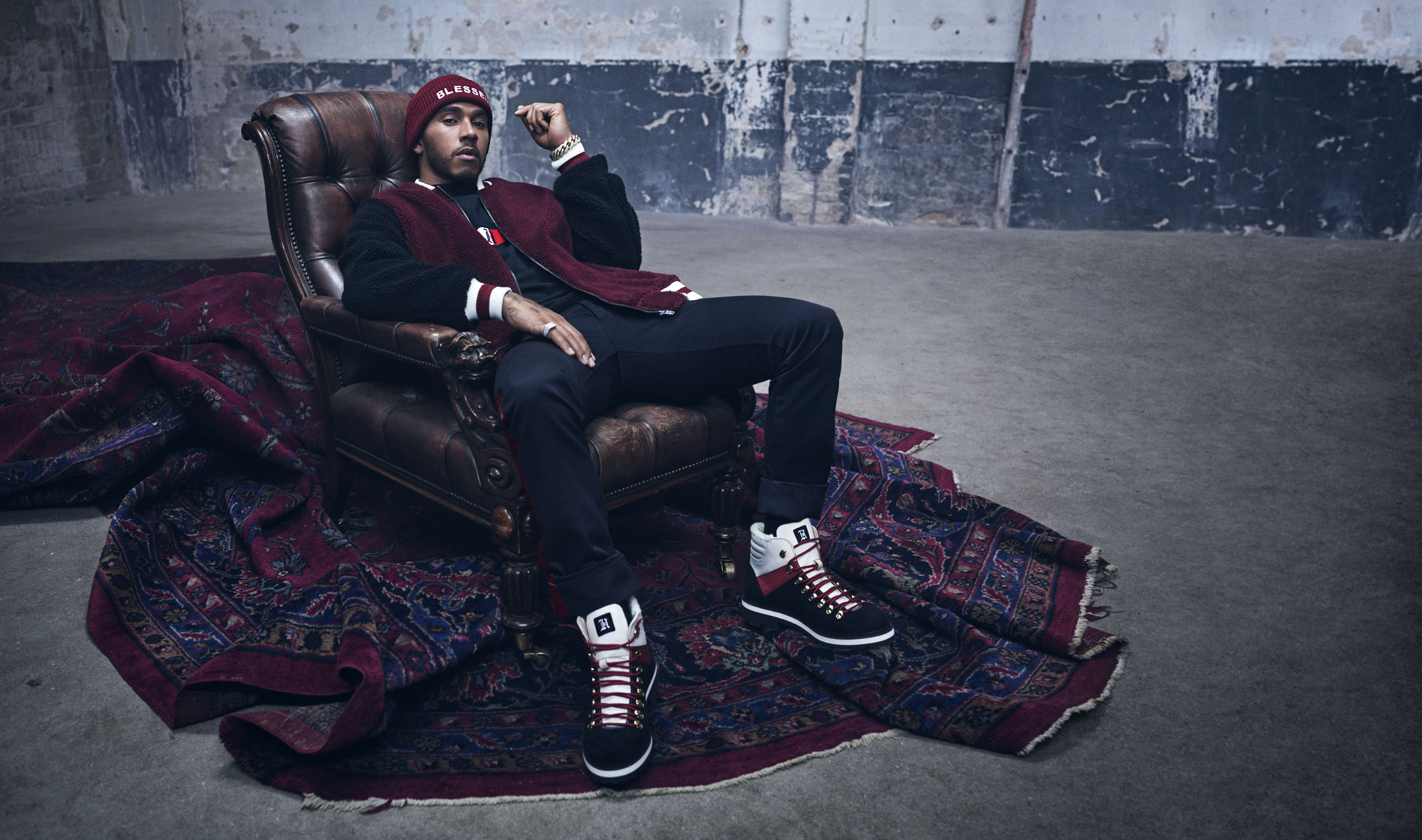 lewis hamilton and tommy hilfiger good collaboration